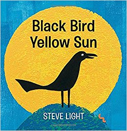 Black Bird Yellow Sun Cover